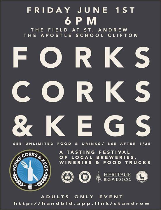 C&R is proud to be a sponsor of Forks Corks & Kegs 2018! We…