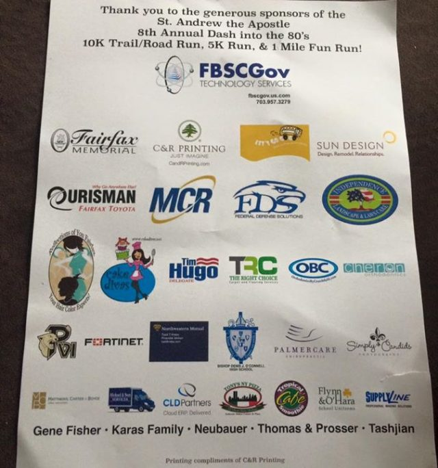 We are very proud to sponsor this years race!