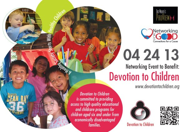 We are proud to sponsor Networking for Devotion to Children. Please join us on…